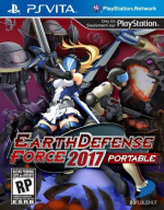 Earth Defense Force 2017 Portable Cover (Click to enlarge)