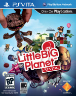 LittleBigPlanet PS Vita Cover (Click to enlarge)