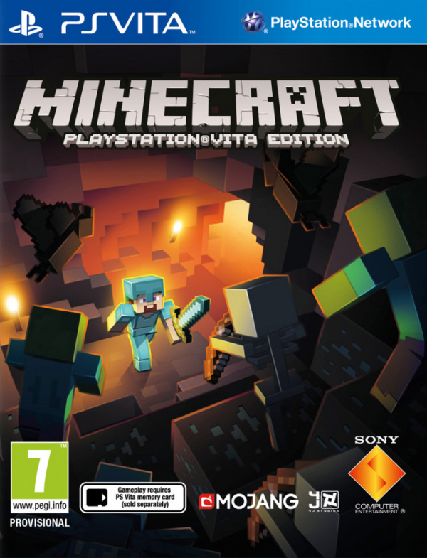 Minecraft youtube cover minecraft ps vita edition