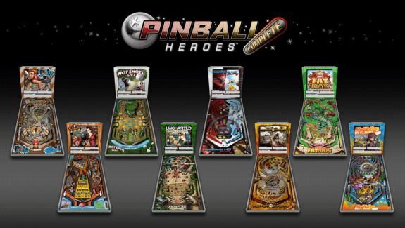 Pinball Heroes: Complete