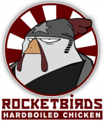 Rocketbirds: Hardboiled Chicken Cover (Click to enlarge)