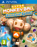 Super Monkey Ball: Banana Splitz Cover (Click to enlarge)