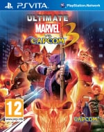 Ultimate Marvel vs. Capcom 3 Cover (Click to enlarge)
