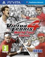 Virtua Tennis 4: World Tour Edition Cover (Click to enlarge)