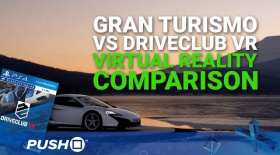 Gran Turismo Sport PlayStation VR Gameplay: DriveClub VR Comparison | PSVR | PS4 Pro Footage