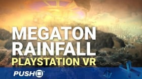 Megaton Rainfall PS4: Superman Simulator | PlayStation VR | PS4 Pro Gameplay Footage