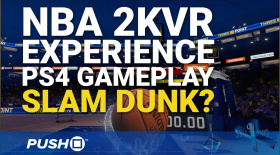 NBA 2KVR Experience PS4 Gameplay: Slam Dunk? | PlayStation 4 | PlayStation VR