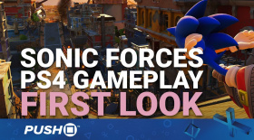 Sonic Forces PS4 Gameplay Footage First Look | PlayStation 4 | Modern Sonic