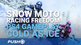 Snow Moto Racing Freedom PS4 Gameplay Footage: Cold As Ice | PlayStation 4 | Hands On