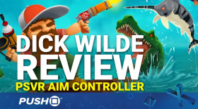 Dick Wilde PS4 Review: PlayStation VR Aim Controller & PS Move | PSVR Gameplay Footage