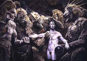 "Artist Wayne Barlowe Based His Book ""Barlowe's Inferno"" On The Divine Comedy."