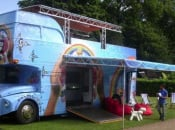 Take A Look At Sony's Playstation Portable Summer Bus