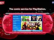 Digital Comics on Playstation Portable