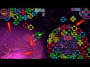 Stellar Attack Has A Great Stylised Look To It.