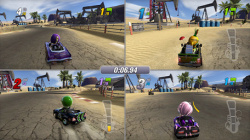 ModNation Racers Will Support Four-Player Local Split-Screen.