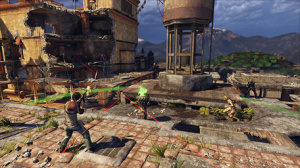 Uncharted 2: Among Theives Gets A New Co-Op Siege Mode Today.