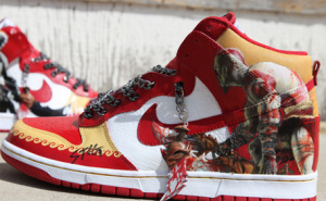 Kratos Gave Up On His God Of War Position, Opting For The Open God Of Sneakers Post.