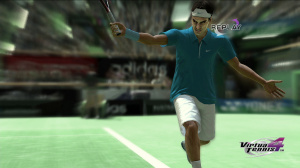 What time does Federer go to bed? Tennish!