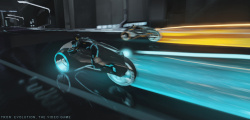 Light cycles are an important part of combat in the new Tron game