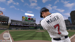 Joe Mauer returns as the cover athlete too