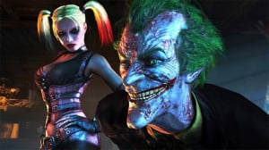 The Joker's Looking Rougher Than Usual In Batman: Arkham City.