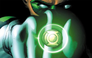 The Green Lantern's Already Donning His 3D Glasses.
