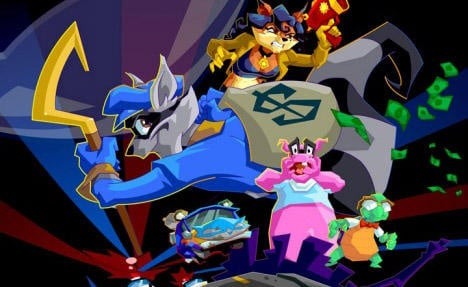 Meet The Playstation Move Heroes Sly Cooper And Bentley