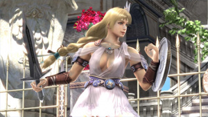Soul Calibur Is On A Par With Dead Or Alive When It Comes To Inappropriate Clothing.