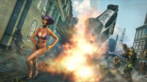 This Woman Wonders Why She's Wearing No Clothes. The Reason: She's In A Saints Row Game.