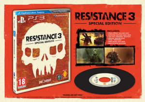 We Must Own That Vinyl Inspired Resistance 3 Blu-Ray Disc.
