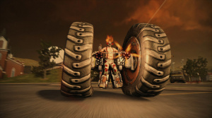 Only In Twisted Metal Do You Have Clowns Riding In Cars That Are Essentially Just Big Wheels.