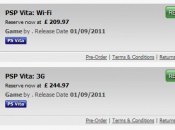 PS Vita UK Release Date and Price Listed by GameStop