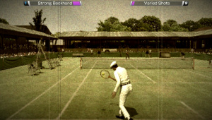 Lawn tennis: the gentleman's game.