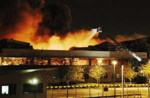 One Of Sony's London Warehouses Was Set Alight Overnight.