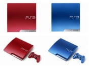 TGS 11: Sony Announces Scarlet Red And Splash Blue PS3 Systems For November