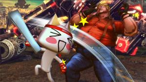 Toro Kicks The Crap Out Of Tekken's Bob.