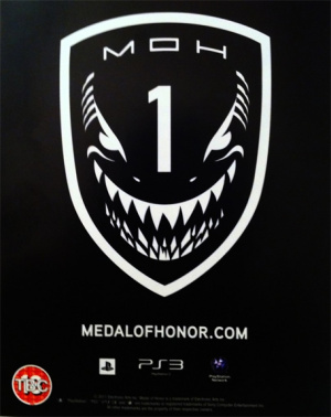 This Medal Of Honor Teaser Is Included On The Back Of Battlefield 3's Online Pass.