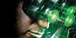 Splinter Cell protagonist Sam Fisher was trying to look at the sky but kept seeing the ground.