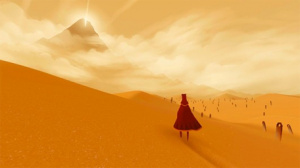Players can explore Journey together or alone.