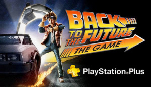 Back To The Future is this month's main PlayStation Plus freebie.