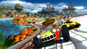 Could a Sonic & SEGA All-Stars Racing sequel be speeding onto PS Vita?