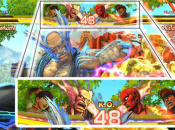 Xiaoyu And M. Bison Exhange Attacks In Street Fighter X Tekken