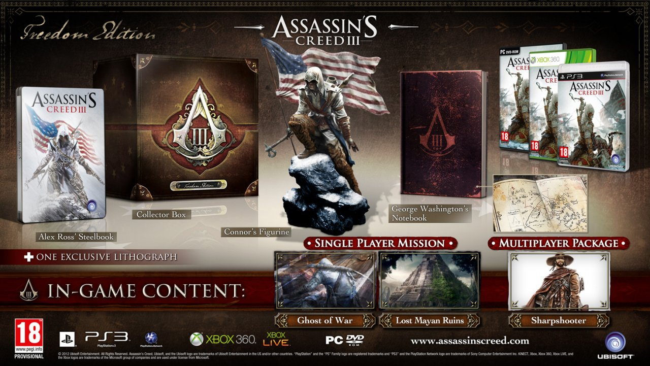 Assasin Creed 3 : Images inédites Large