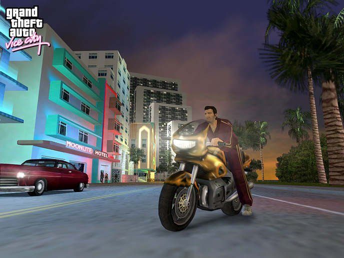 Grand Theft Auto On Vita : Rumour grand theft auto vice city nights coming to ps