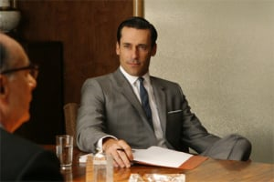Mad Men's suave and secretive Don Draper. Image: AMC