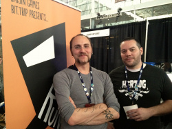 Gaijin Games co-founders Alex Neuse and Mike Roush