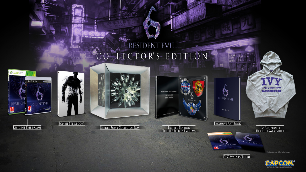 Resident Evil 6 Collector S Edition Unveiled Push Square