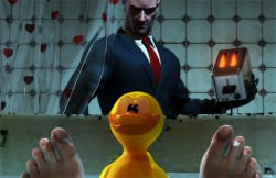Mind the rubber ducky