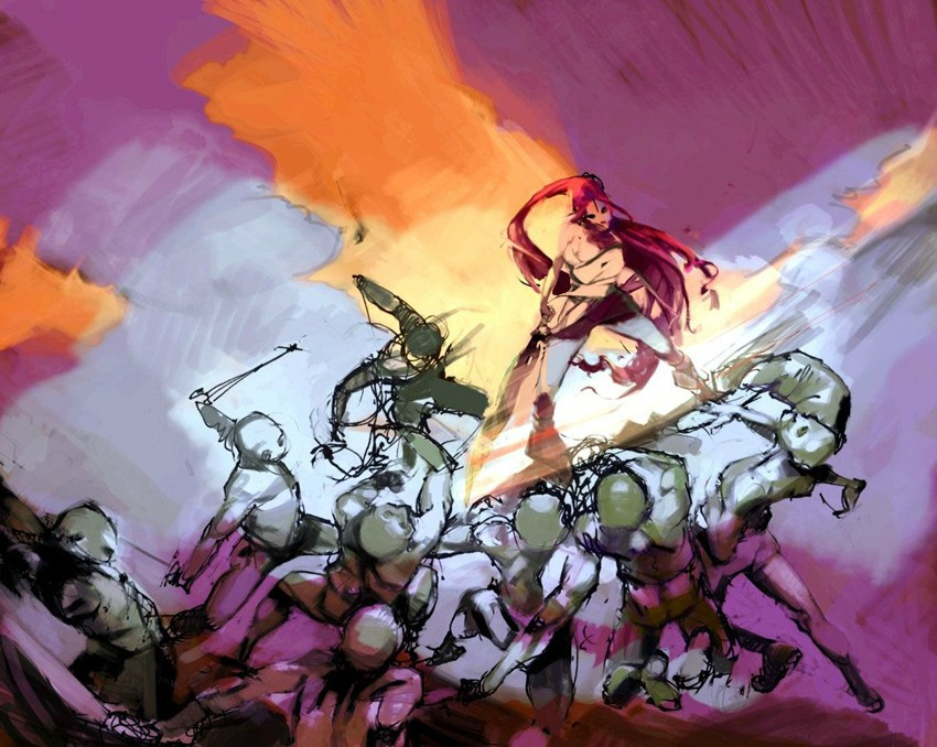 Heavenly Sword 2 Concept Art Infiltrates The Internet Push Square