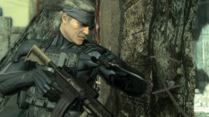Snake's brushing up on his CQC